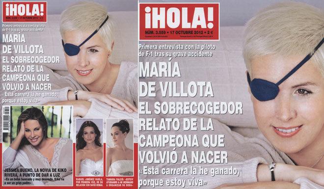 Maria de Villota se montre et revient sur son accident