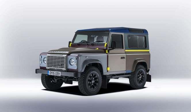 Land Rover et Paul Smith dévoilent un Defender unique