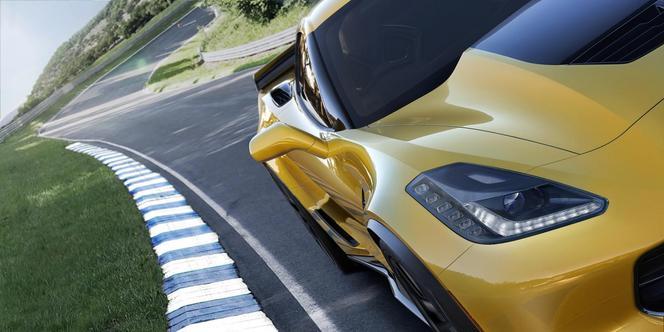 Chevrolet Corvette Z06 : officielle