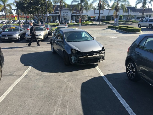 Insolite : les Américains désossent leur Volkswagen Golf avant de les rendre dans le cadre du dieselgate