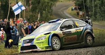 WRC Rallye de Finlande: Marcus comme Markku