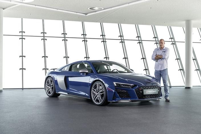 Présentation vidéo - Audi R8 restylée : peut-être le dernier V10