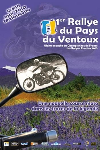 1er Rallye du Pays du Ventoux : Les 15 et 16 mai prochains
