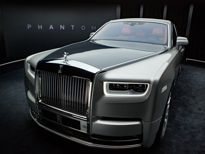 nouvelle rolls royce phantom les premi res photos et infos. Black Bedroom Furniture Sets. Home Design Ideas