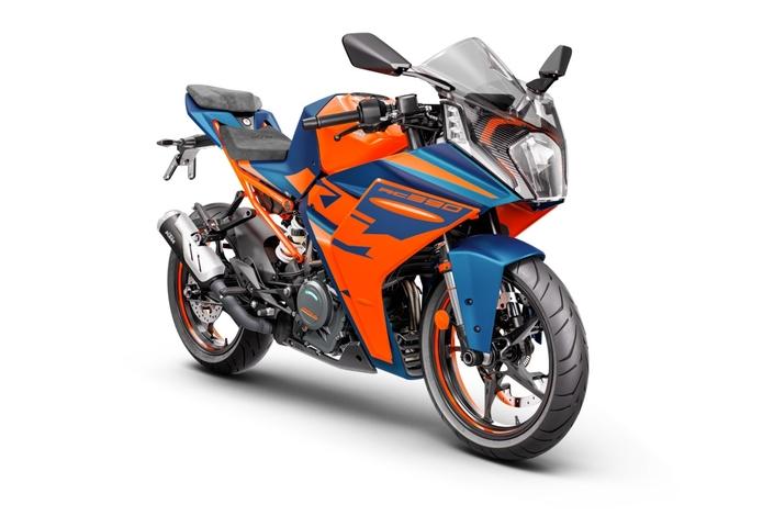 La KTM RC 390 2022.