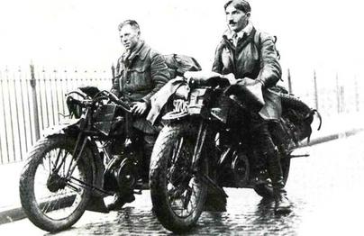 Images d'antan : 1926 - premier tour du monde à moto