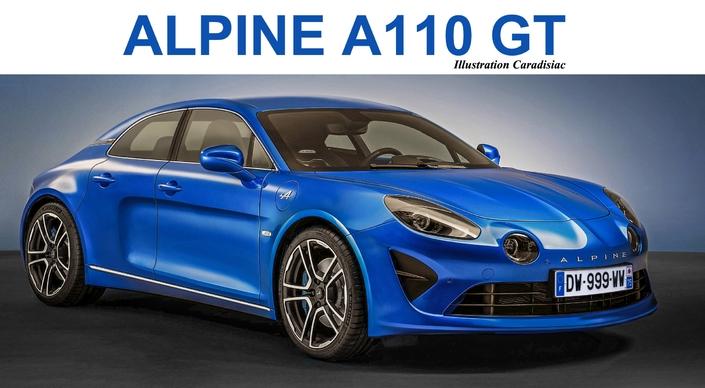 Alpine pourrait faire une GT