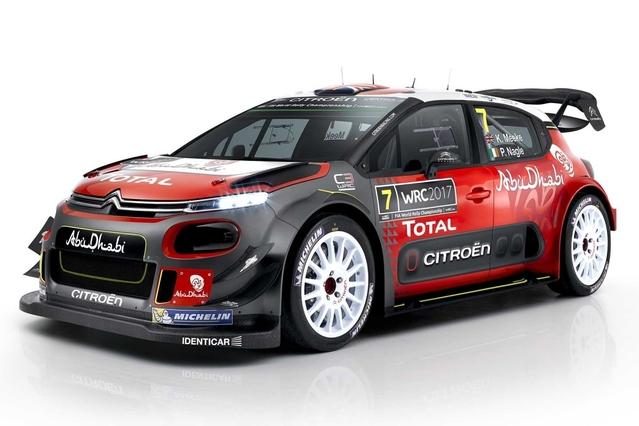 Voici la nouvelle Citroën C3 WRC