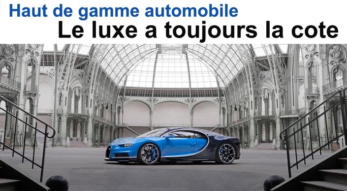 Haut de gamme automobile: le luxe a toujours la cote