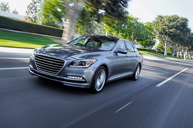 Detroit 2014 : nouvelle Hyundai Genesis, les USA avant l'Europe
