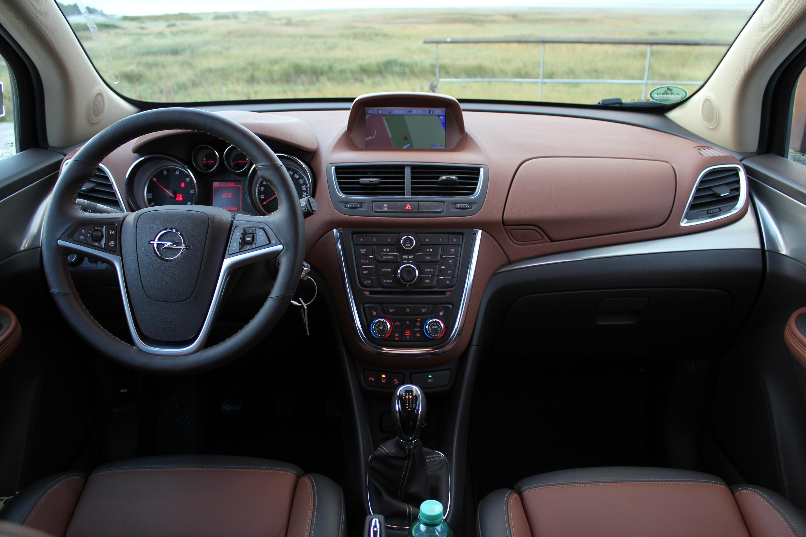 Essai vid o opel mokka bonne d gustation for Opel mokka x interieur