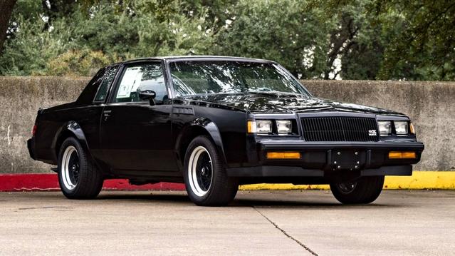 La toute dernière Buick GNX est immaculée et à vendre à prix d'or