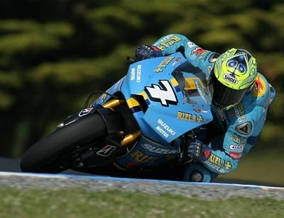 "Moto GP - Test Phillip Island D.1 Suzuki: ""Une journée difficile"""