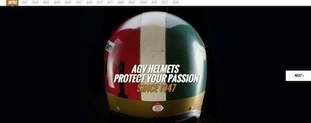 AGV: un nouveau site en ligne
