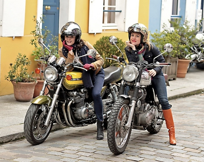 Tendance: le marché moto se féminise