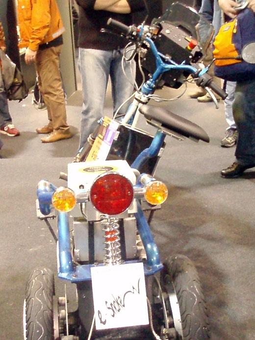 Concept Bike:  E-Snake, pour l'écologie