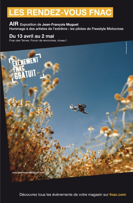 Expo «Air» à la Fnac des Ternes à Paris , du 12 avril au 2 mai
