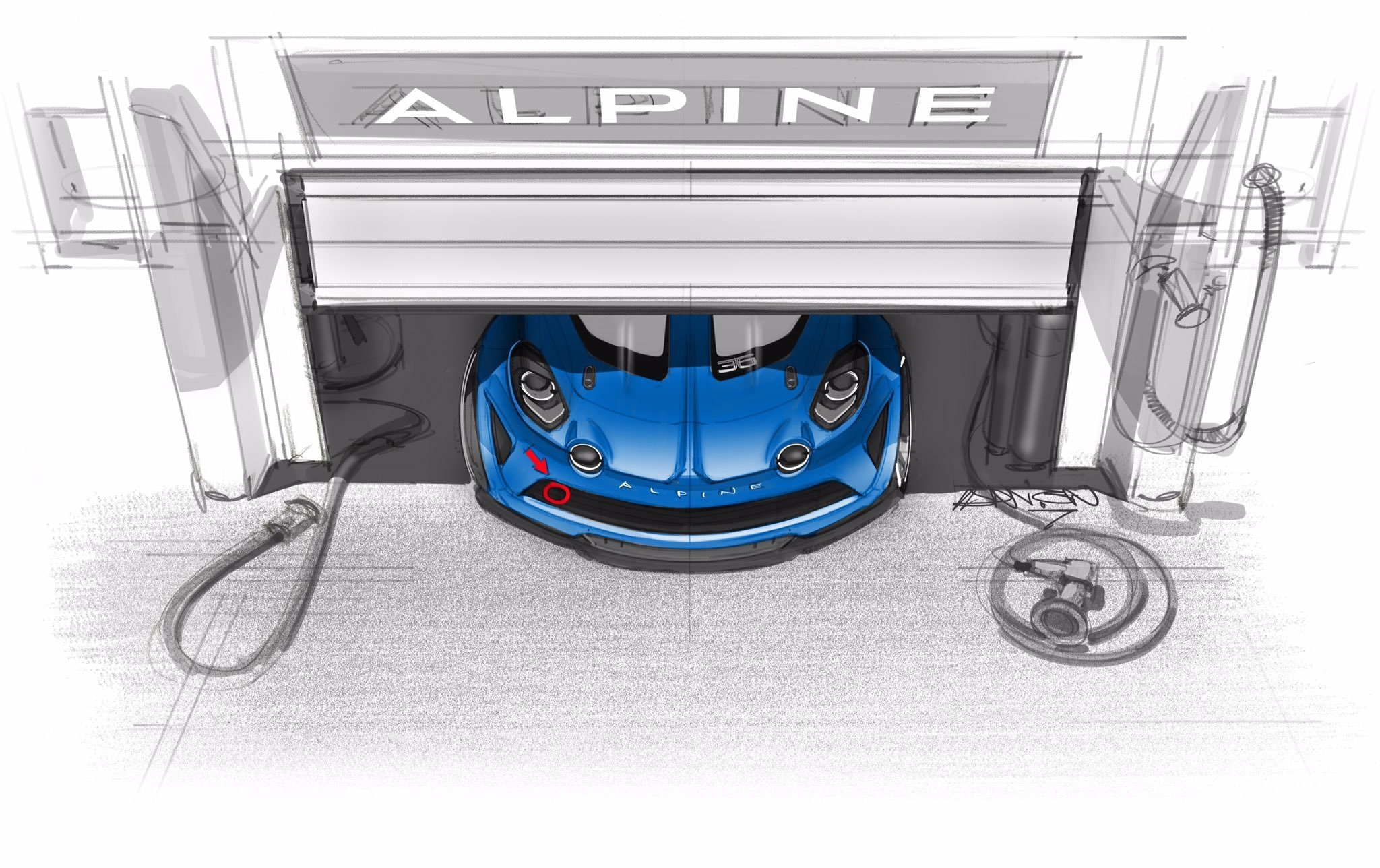 alpine a110 cup une comp tition europ enne d s 2018. Black Bedroom Furniture Sets. Home Design Ideas