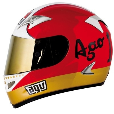 AGV rend hommage à « Ago » avec son casque Ti Tech Evolution Agostini.