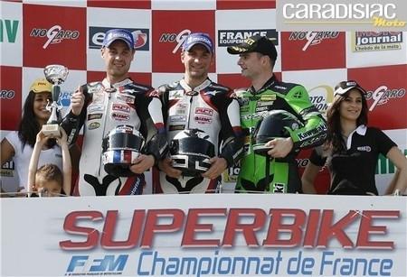 Championnat de France Superbike à Nogaro: doublé Michelin et record du tour…