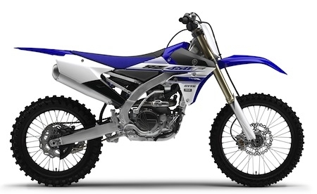 Yamaha YZ450F: les versions 2016