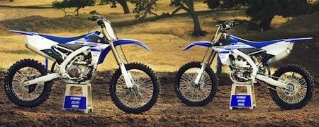 Yamaha YZ450F: les versions 2016