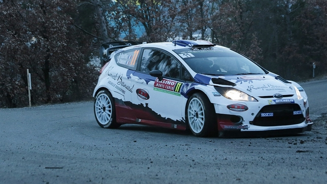 WRC 2014, ça part en fanfare au Monte-Carlo. Bouffier fait la nique aux usines