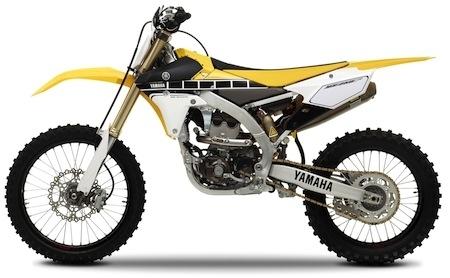 Yamaha YZ et YZ250F: les versions 2016