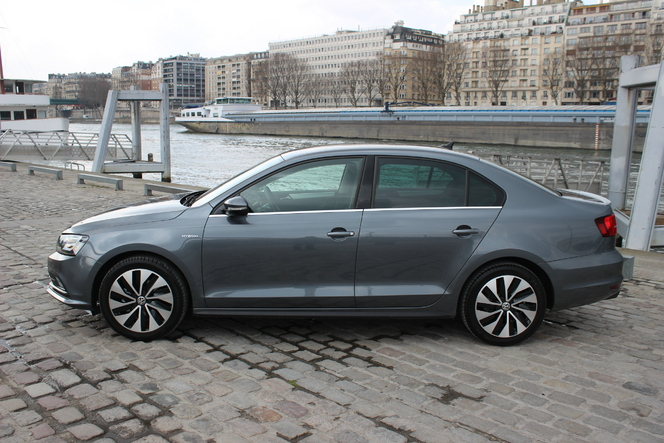 Volkswagen Jetta restylée : en avant-première, les photos de l'essai