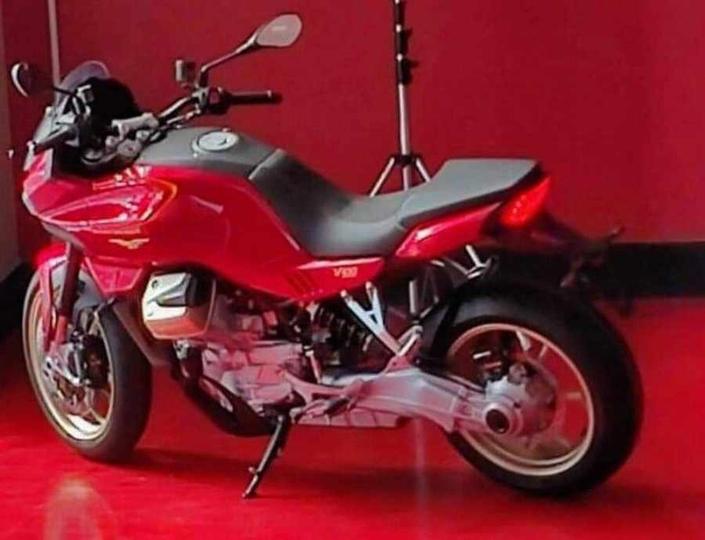 Une nouvelle Moto Guzzi bientôt présentée!
