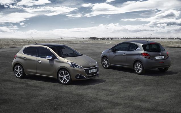Deux nouvelles teintes pour la Peugeot 208 en première mondiale