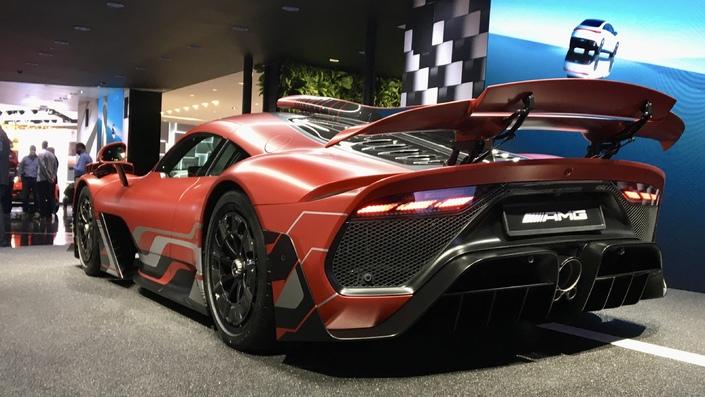 Mercedes-AMG One: Alfa - vídeo en directo del Salón del Automóvil de Múnich 2021