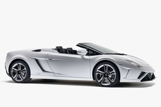 Voici la nouvelle Lamborghini Gallardo Spyder LP560-4