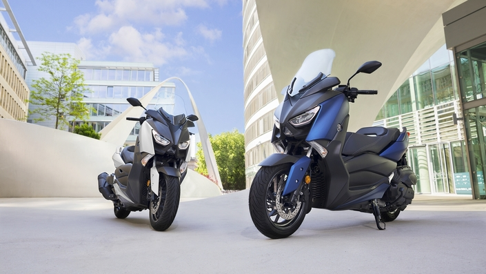 Yamaha: 6 999 euros pour le X-Max 400 (2018)