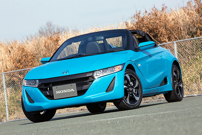 La Honda S660 se dévoile officiellement (plus de 100 photos)