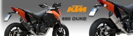 Ligne 1 en 1 SC Project pour la KTM 690 Duke [+ vidéo]