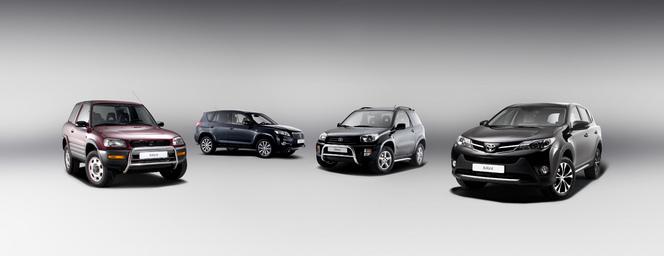 Le Toyota RAV4 célèbre ses 20 ans