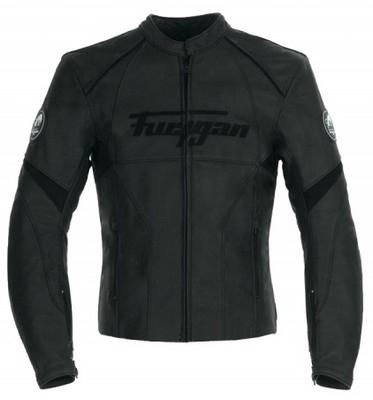 Noir c'est noir : blouson cuir Furygan Stormer.