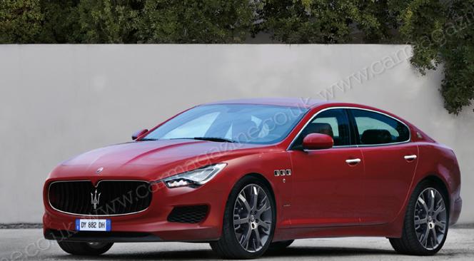 Future Maserati Ghibli: comme ça?