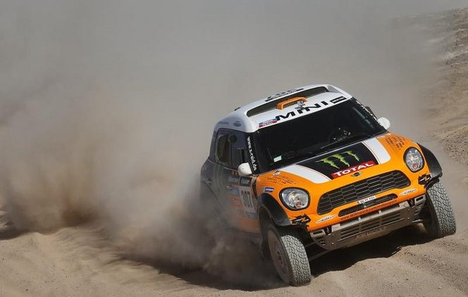 Dakar 2014 - ES11 : Mini fige les positions, Roma désigné vainqueur 3 jours avant l'arrivée