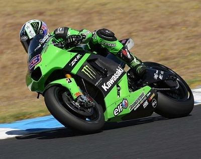 "Moto GP - Test Phillip Island Kawasaki: Les ""verts"" fragiles"