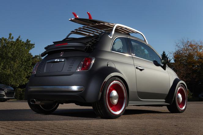 Sema Show 2012 : Mopar rhabille aussi les Fiat 500