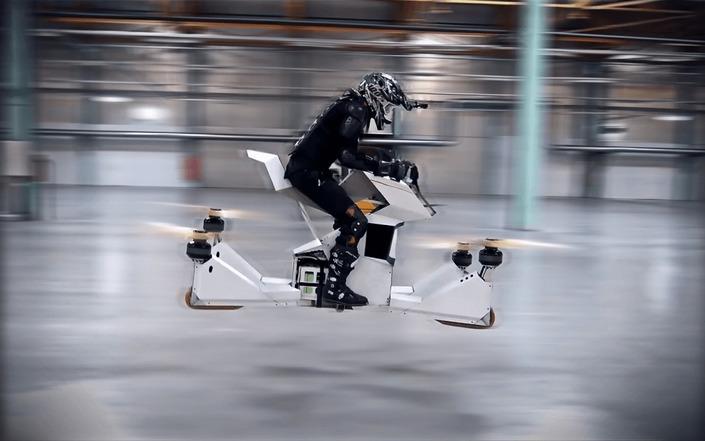 Nouveauté - Hoversurf: vous pouvez commander une moto volante.