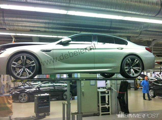 Surprise : la BMW M6 Gran Coupé