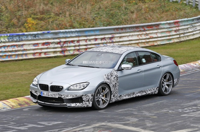 Surprise : la BMW M6 Gran Coupé
