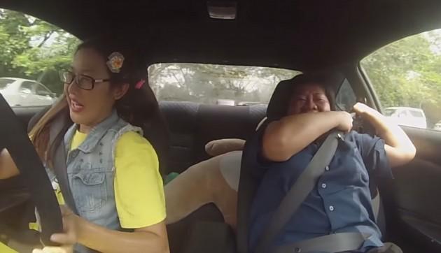 Insolite : une pilote de Drift terrifie des instructeurs d'auto-école