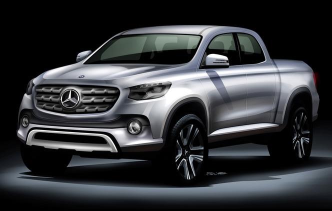 Mercedes va lancer un pick-up de taille intermédiaire