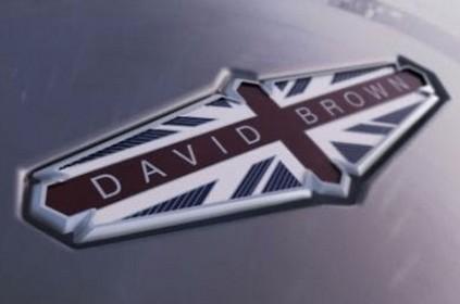 David Brown Automotive: un nouveau constructeur orienté sport et luxe