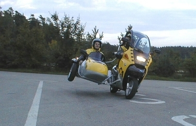 Photo du jour : BMW C1 Sidecar
