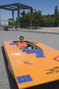 Esteban IV veut briller lors du Panasonic World Solar Challenge 2007 !